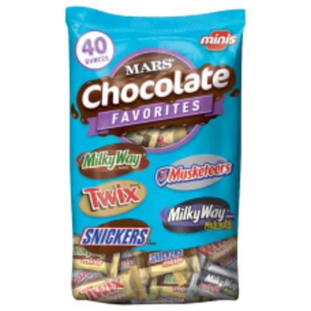 MARS Chocolate Favorites Minis Size Candy deals at $10.77