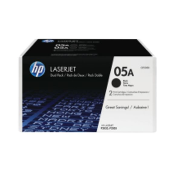 HP 05A Black Original Toner Cartridges deals at $179.89