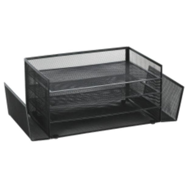 Brenton Studio Black Mesh 4 Shelf deals at $15.67