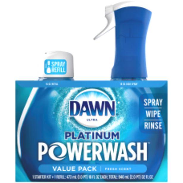 Dawn Platinum Powerwash Dish Spray Bundle deals at $9.79