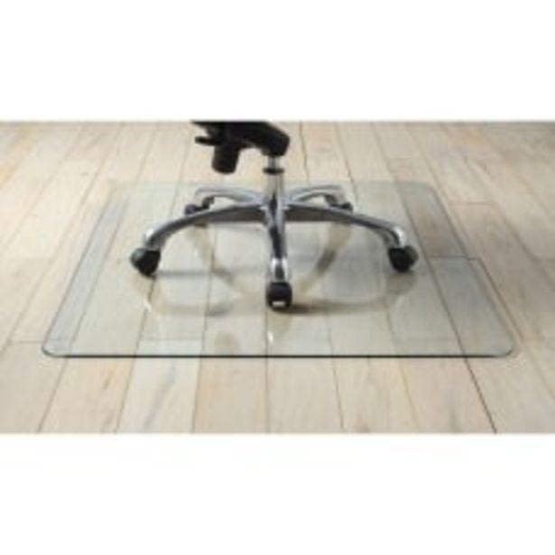 Lorell Tempered Glass Chair Mat 48 deals at $149.99