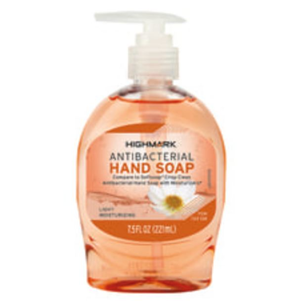 Highmark Antibacterial Liquid Hand Soap Unscented deals at $1.99