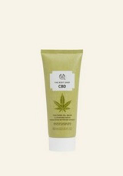 CBD Soothing Oil-Balm Cleansing Mask deals at $22