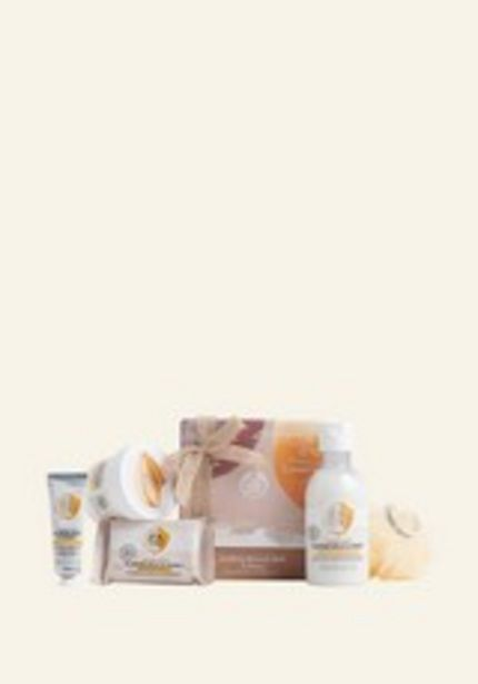Soothing Almond Milk & Honey Pampering Essentials deals at $25