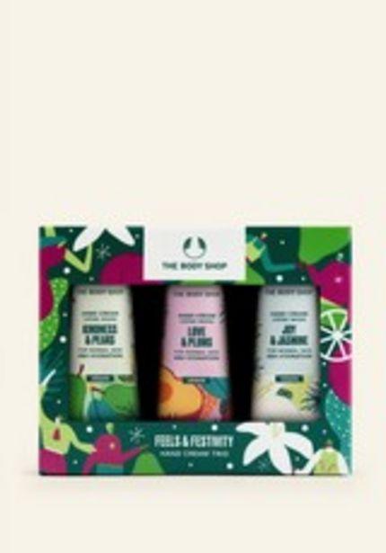 Feels & Festivity Hand Cream Trio deals at $16