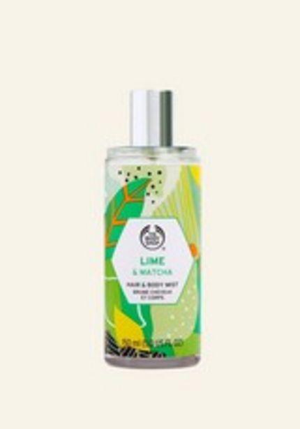 Lime & Matcha Hair & Body Mist deals at $15