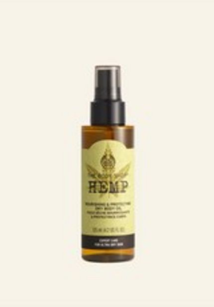 Hemp Nourishing & Protecting Dry Body Oil deals at $15