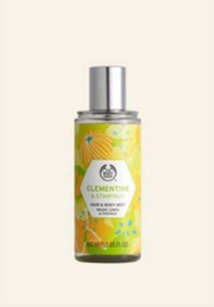Clementine & Starfruit Hair & Body Mist deals at $15