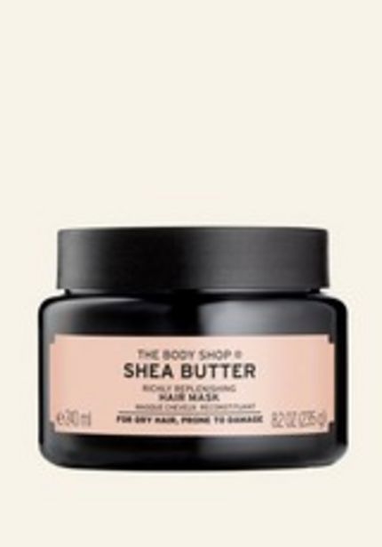 Shea Butter Richly Replenishing Hair Mask deals at $18