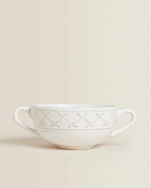 Textured Earthenware Consommé Mug deals at $17.9