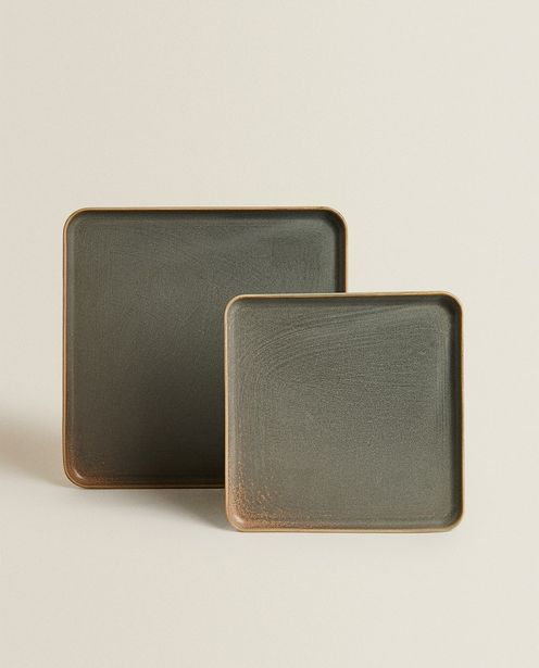 Square Stoneware Serving Dish deals at $17.9