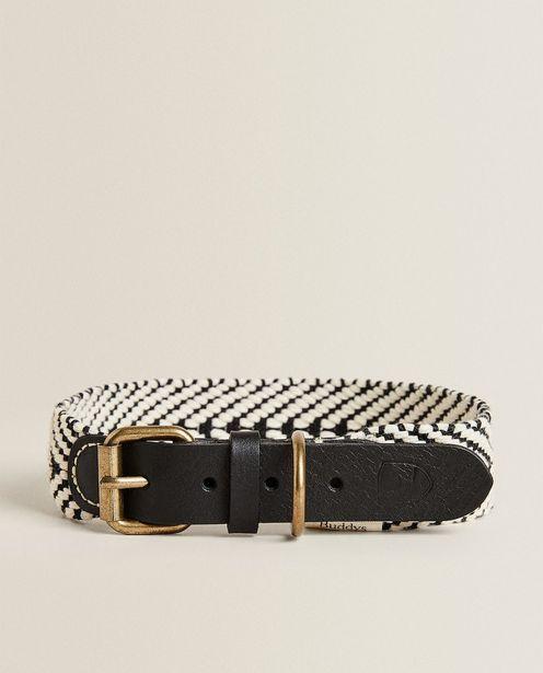 Buddys Herringbone Pet Collar deals at $49.9