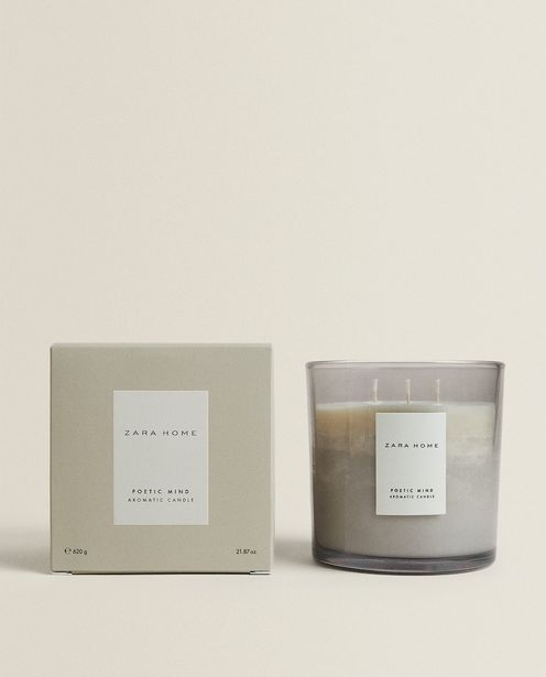 (620 G) Poetic Mind Scented Candle deals at $25.9