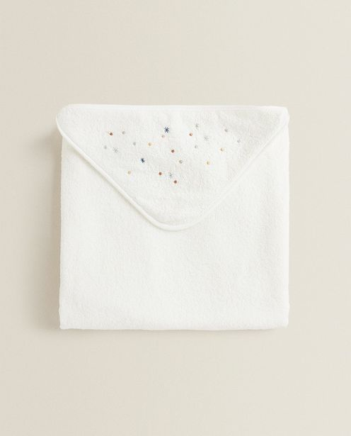 Hooded Towel With Multicolored Stars deals at $35.9