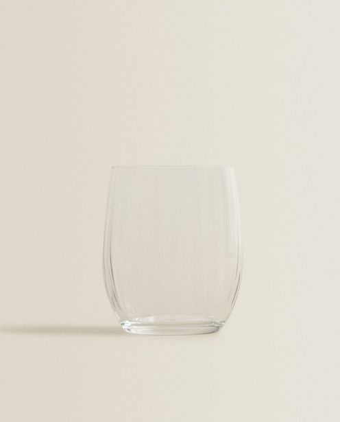 Bohemia Crystal Tumbler With Lines deals at $6.9