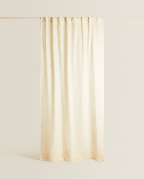 Striped Muslin Curtain deals at $69.9
