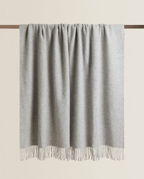 Plain Wool Blanket deals at $139