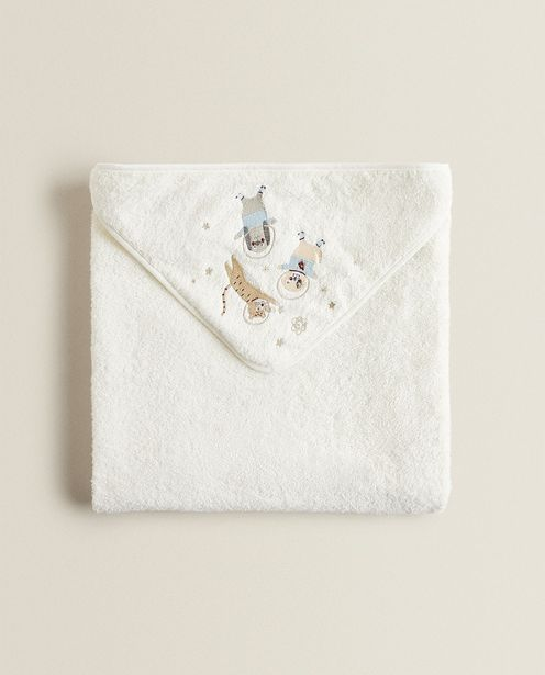 Embroidered Dog Astronaut Hooded Towel deals at $35.9