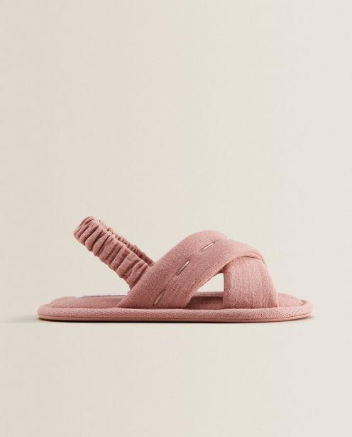 Criss-Cross Fabric Sandals deals at $25.9