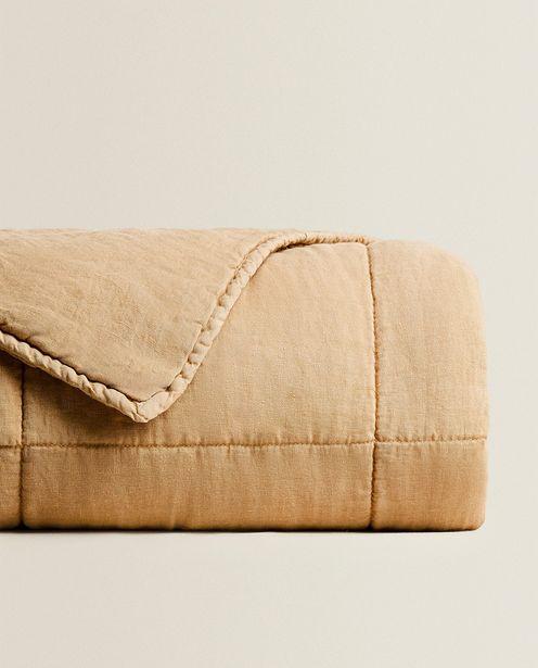 Checked Linen Quilt deals at $299