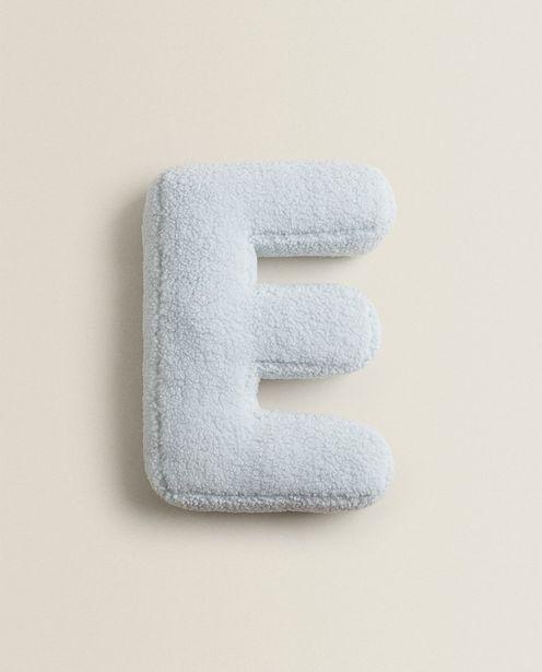 Letter E Cushion deals at $25.9