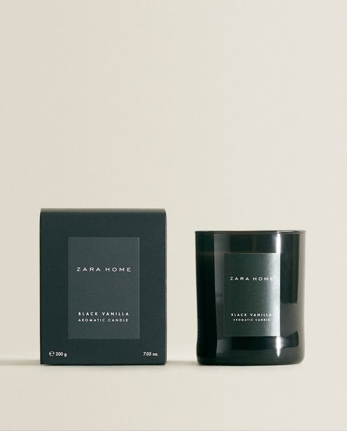(200 G) Black Vanilla Scented Candle deals at $17.9