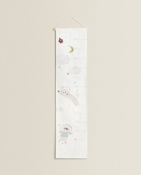 Children'S Wall Height Chart With Outer Space Pet Designs deals at $39.9