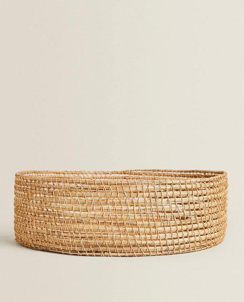 Round Palm Leaf Basket deals at $49.9