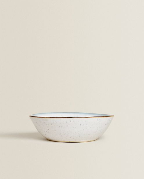 Flecked Stoneware Bowl deals at $14.9