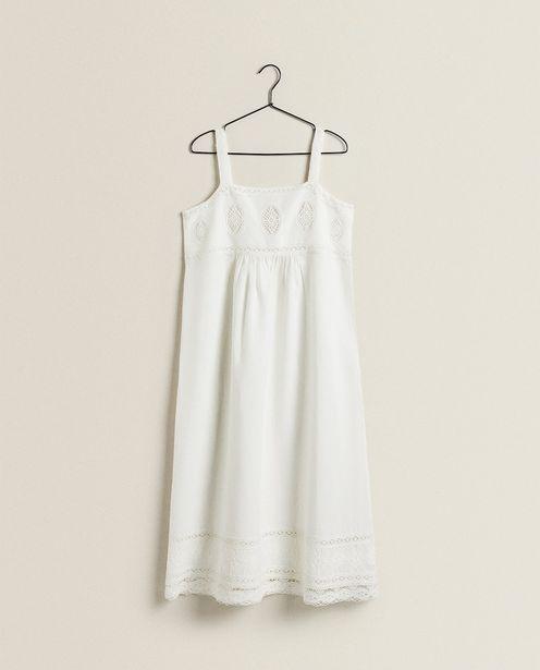 Cotton And Linen Blend Dress deals at $99.9