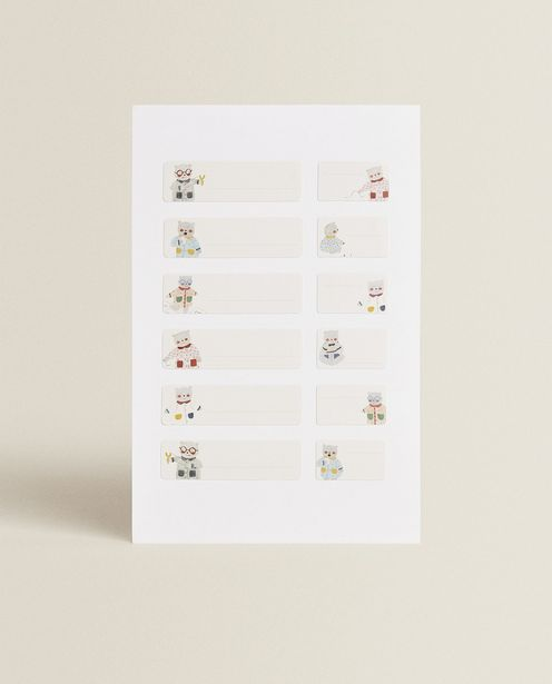 Bear Clothing Labels (Pack Of 36) deals at $9.9