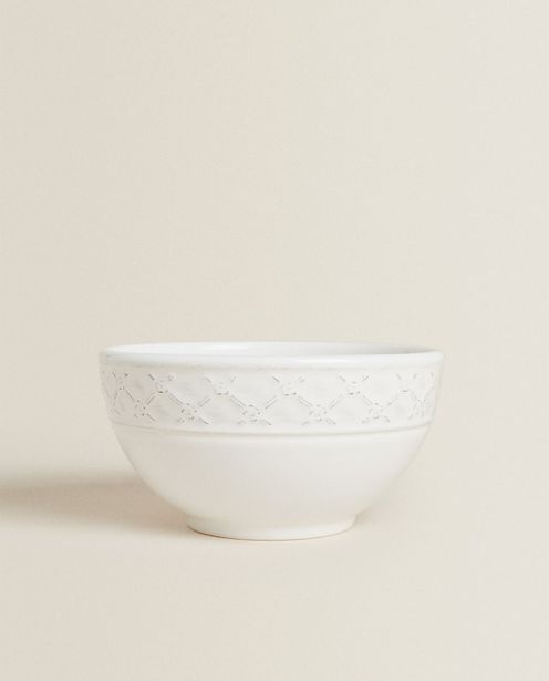 Textured Earthenware Bowl deals at $6.9