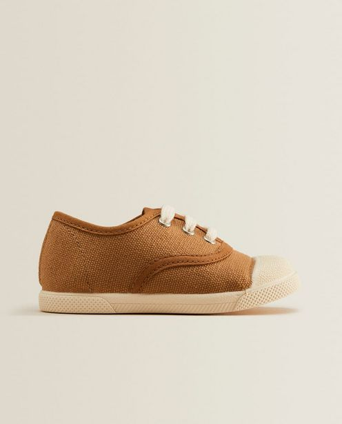 Lace-Up Fabric Sneakers deals at $39.9