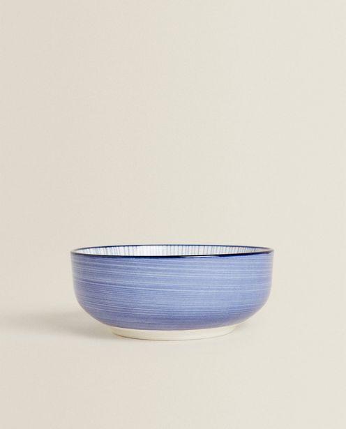 Porcelain Bowl With Line Design deals at $9.9
