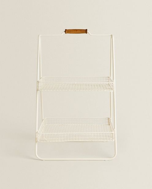 Double-Layer Lacquered Metal Tray deals at $69.9