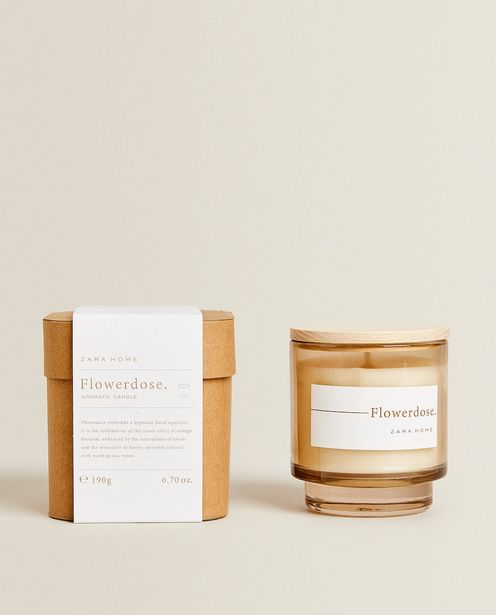 (190 G) Flowerdose Scented Candle deals at $25.9