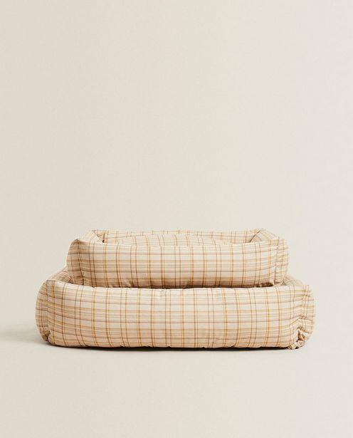 Plaid Pet Bed deals at $89.9