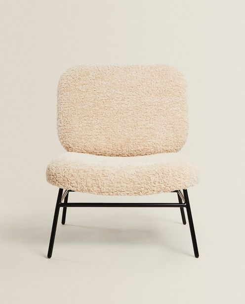 Faux Shearling Chair deals at $299