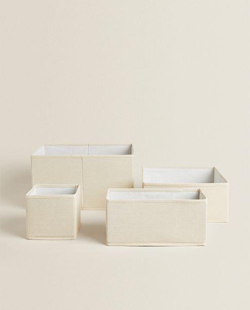 Foldable Cotton Storage Box deals at $9.9