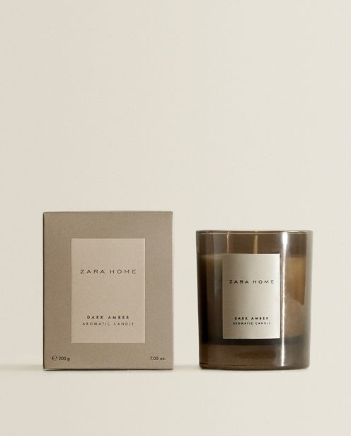 (200 G) Dark Amber Scented Candle deals at $17.9
