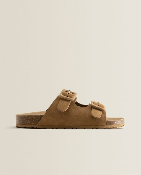 Leather Sandals With Buckles deals at $49.9