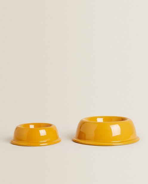 Ceramic Pet Food Or Water Bowl deals at $22.9
