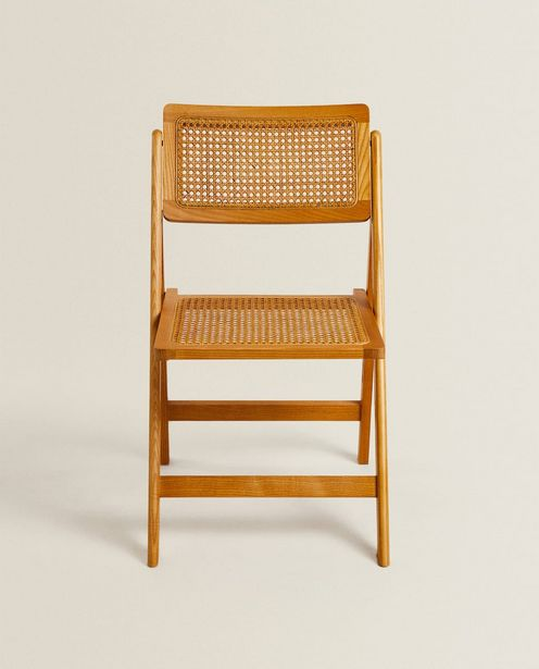 Rattan And Wood Folding Chair deals at $159