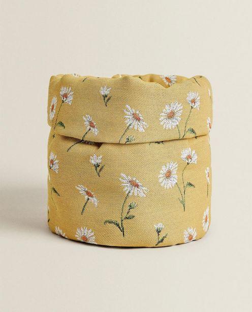 Daisy Jacquard Bread Basket deals at $29.9