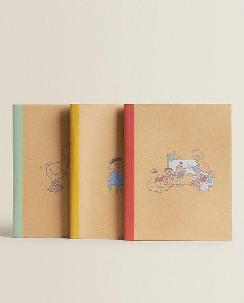 3-Pack Of Sesame Street Craft Notebooks deals at $17.9