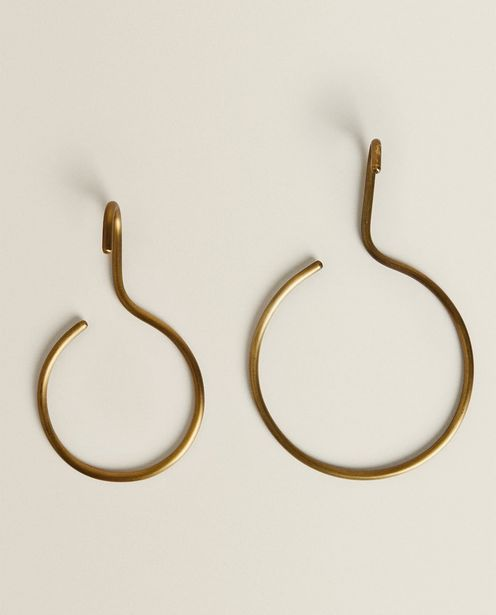 Round Gold-Toned Hook With Antique Finish deals at $22.9