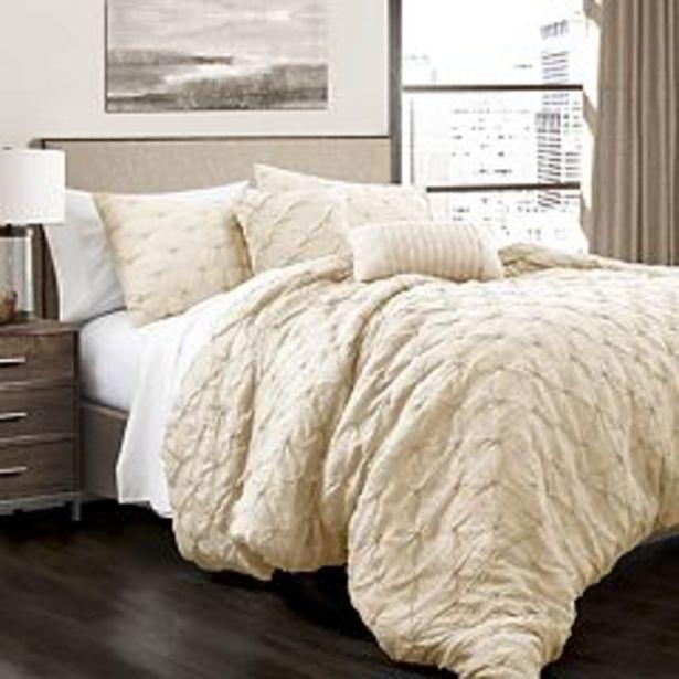 Lush Decor Ravello Pintuck Comforter Set deals at $87.99