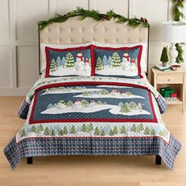 St. Nicholas Square® Snowman Quilt Set deals at $125.99