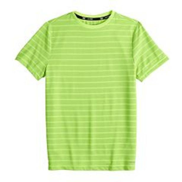 Boys 4-20 Tek Gear® DryTek Striped Tee in Regular & Husky deals at $4