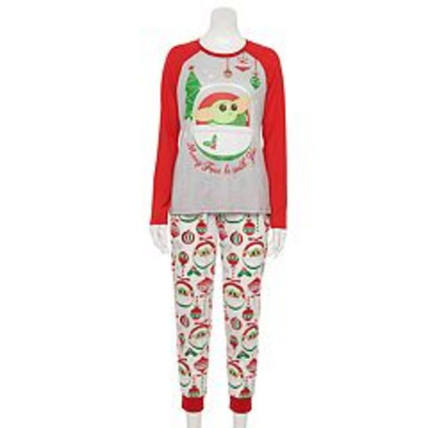 Women's Jammies For Your Families® Star Wars The Mandalorian The Child aka Baby Yoda Pajama Set deals at $34.5